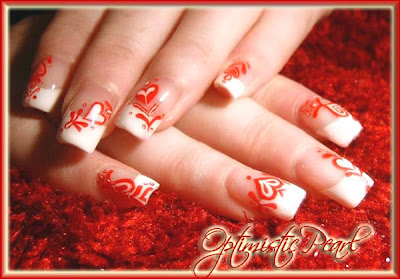 The Beauty of 3D Nail Art-3