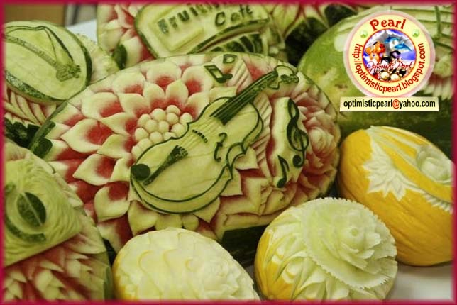 Fruit vegetable carving fruits and vegetables decoration for Art of food decoration