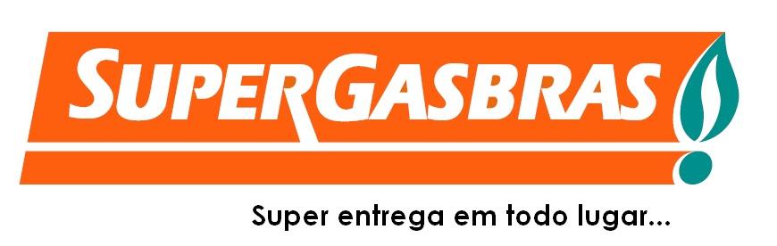 Logomarca slogan Supergasbrás telefone 0800