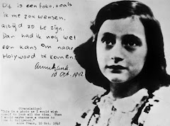 Anne Frank as she wished she always looked