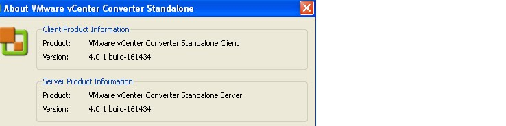 unable to obtain hardware information for the selected machine p2v