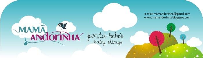 Mamã Andorinha // Porta bebés // Baby slings