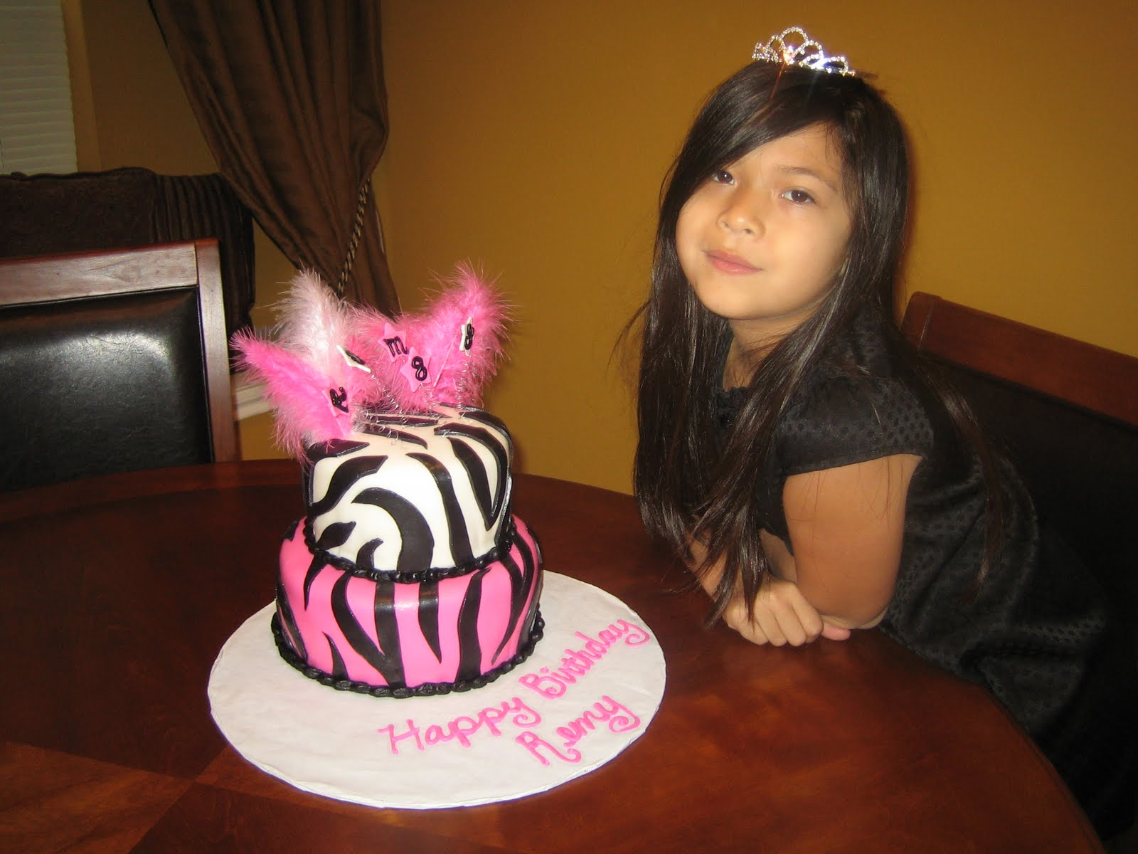 Katy Cake Girls: Happy 8th Birthday Remy!