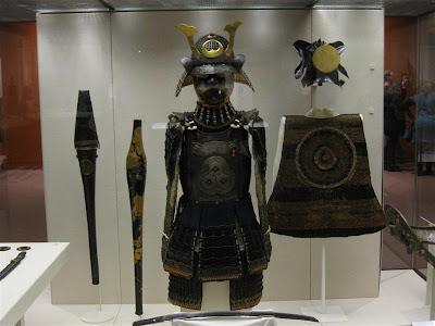 Armadura Samurai en el British Museum