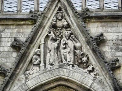 San Martín descubre al diablo disfrazado de Cristo
