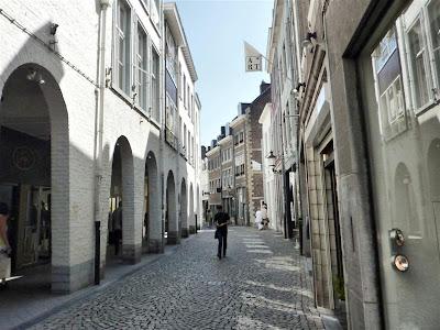 Una calle cualquiera en Maastricht
