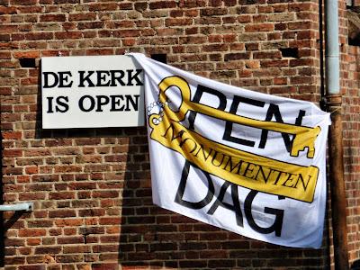 La iglesia está abierta en Middelburg