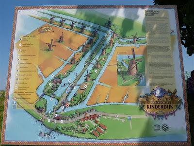 Kinderdijk, un sistema de achique de 19 molinos