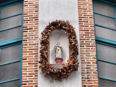 Talla de la Virgen de la Guía en Portugalete
