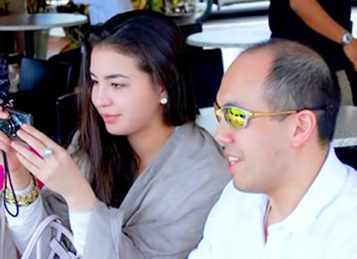 Manohara Odelia Pinot And Tengku Temenggong Muhammad Fakhry Petra