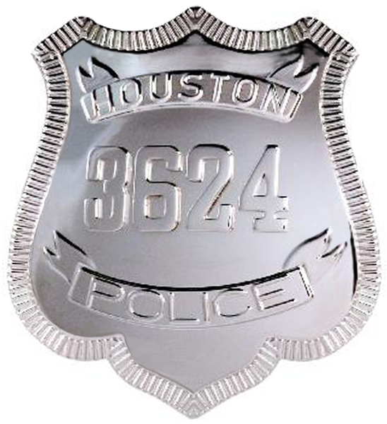 Houston Police Badge
