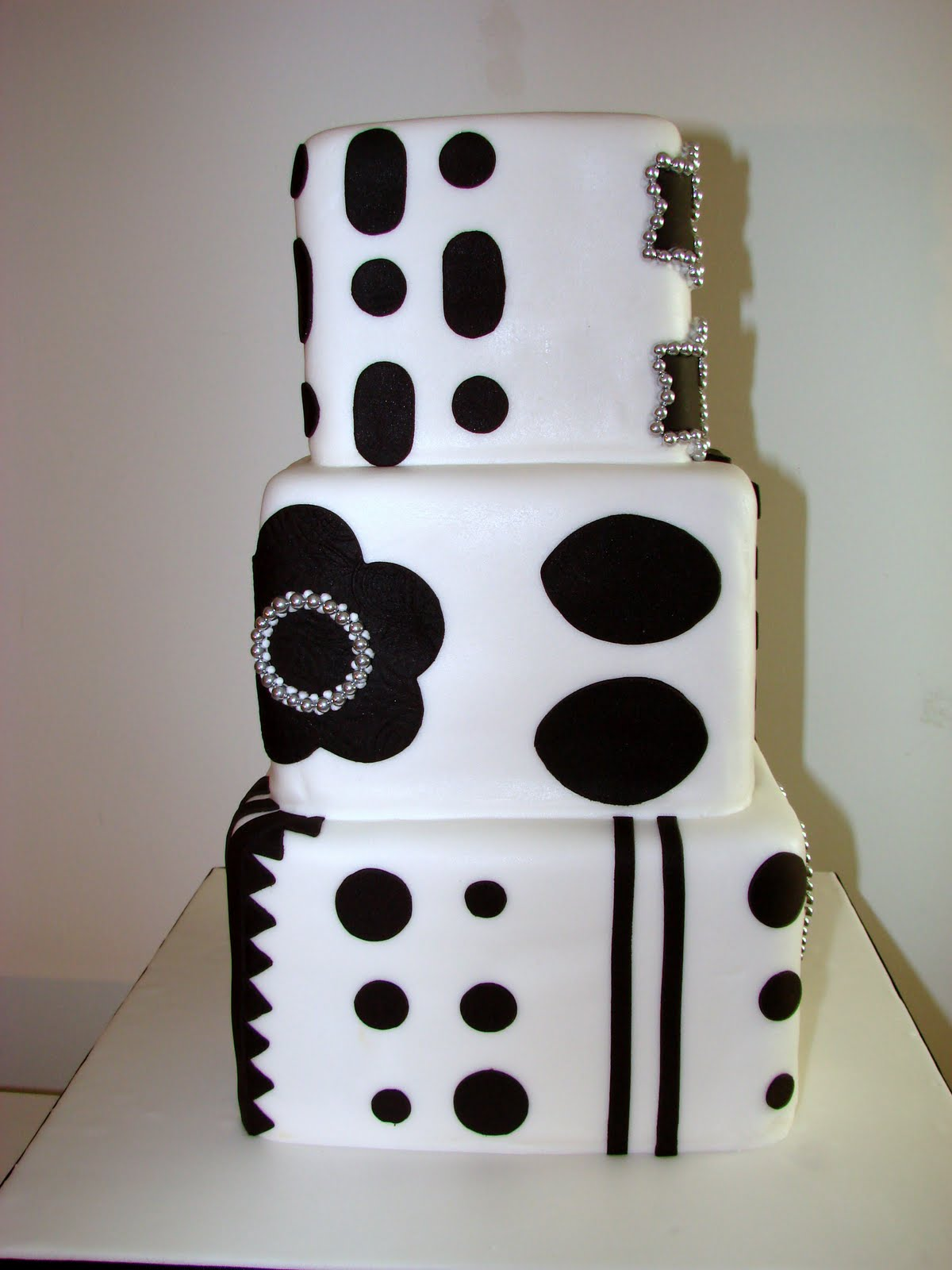 Pastelería para Eventos: Blanco y negro!