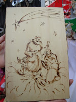 Eliver arte a casa mia febbraio 2009 - Decorazioni pirografo ...