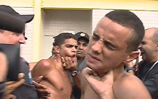 Dois dos cinco suspeitos detidos (Foto O Globo)