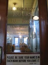 MCMA LIBRARY DOOR