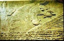 Génie assyrien.
