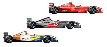 Apostas de Papai para F1 2008