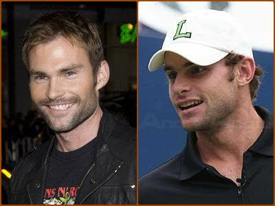Seann William Scott & Andy Roddick