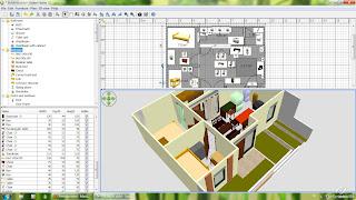 software desain rumah sweethome 3D terbaru