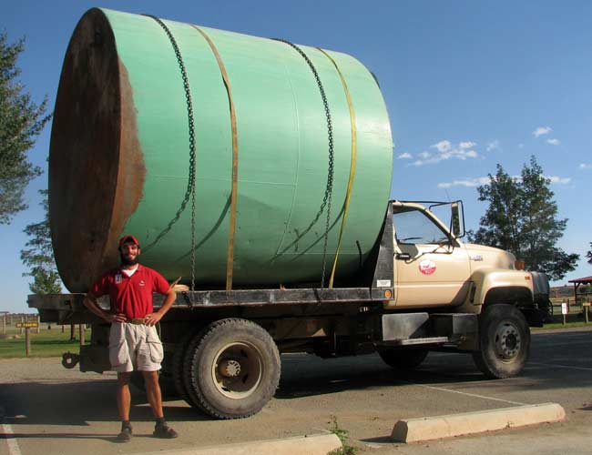 Water Tank Remediation : Philmont scout ranch old water tank removal