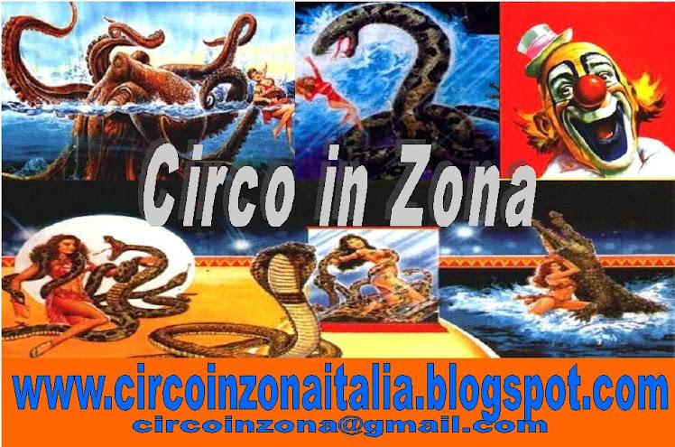 CIRCO in ZONA (il cerca circo web)