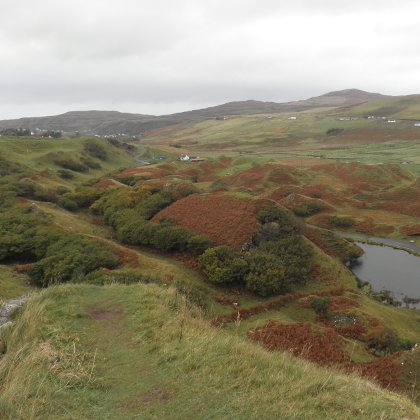 Fairy Glen, the view from the top