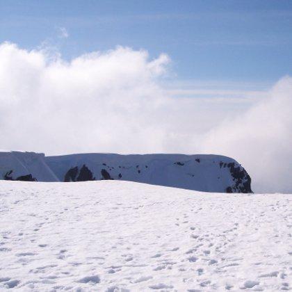 snow on Ben Nevis