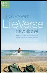 """One Year Life Verse Devotional"""