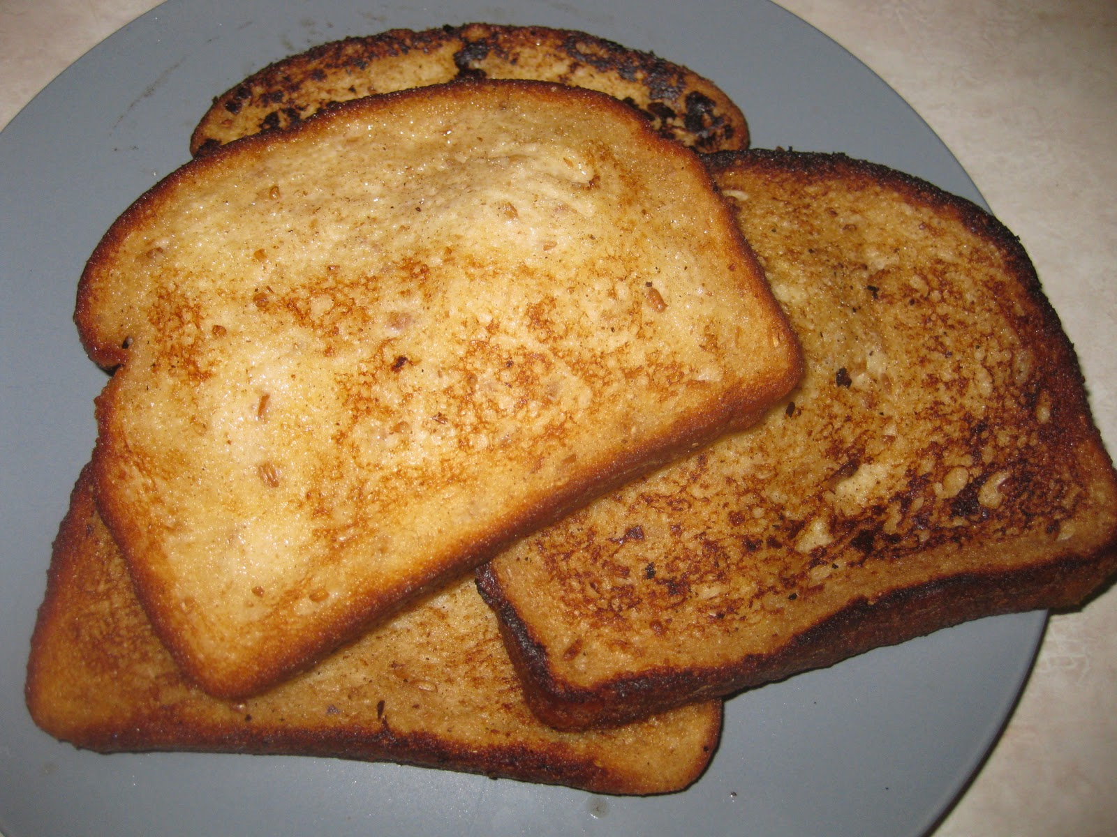 Thrive Life Consultant: French Toast-Made with Powdered Eggs