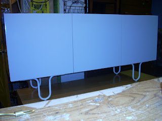 Ikea Cabinet Credenza : Diy plywood topped ikea hack floating credenza dans le lakehouse