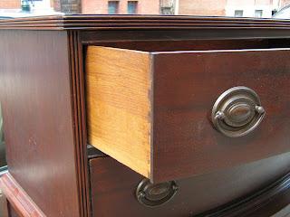 Uhuru Furniture Collectibles 5Piece Duncan Phyfe Bedroom Set SOLD