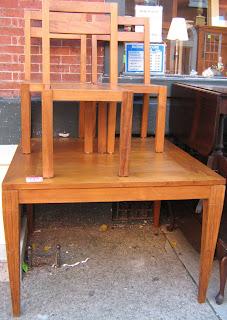 Uhuru Furniture Collectibles Gorgeous Teak Wood Handmade Table