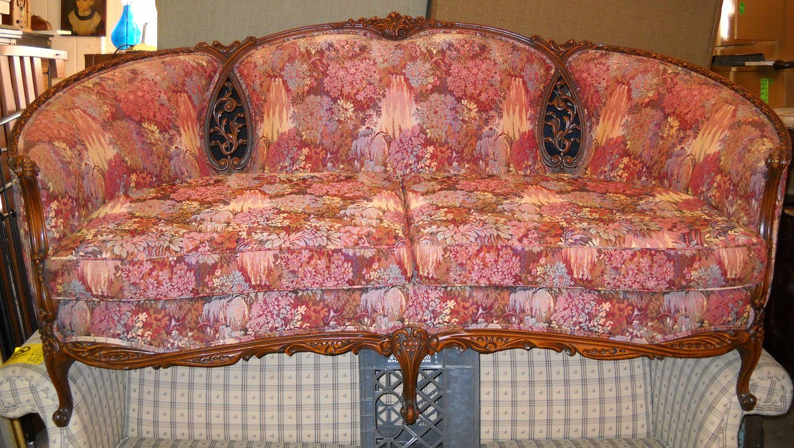 Amazing French Provincial Couch SOLD