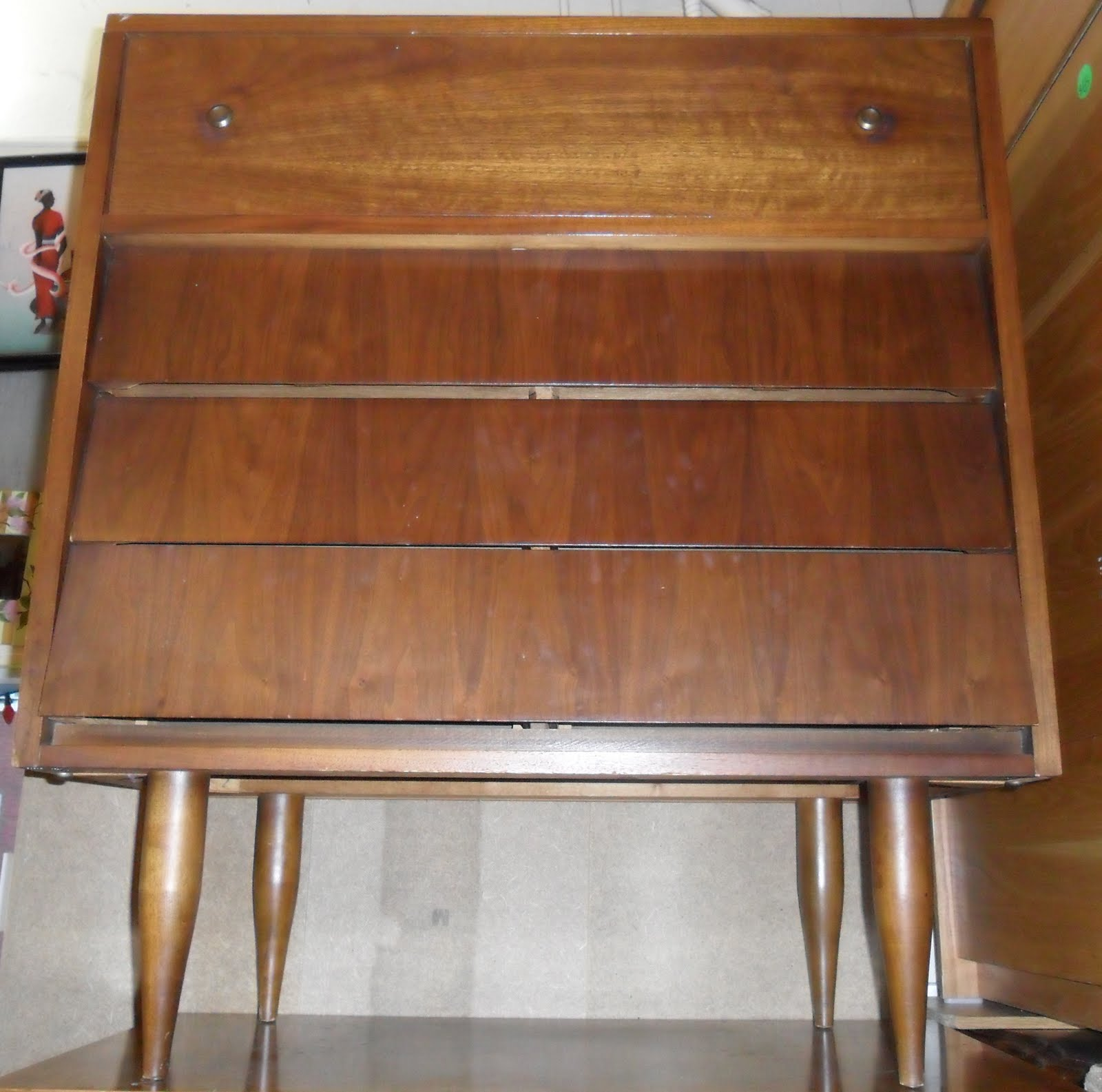 Uhuru furniture collectibles 1970s dresser sold for 70s wooden couch