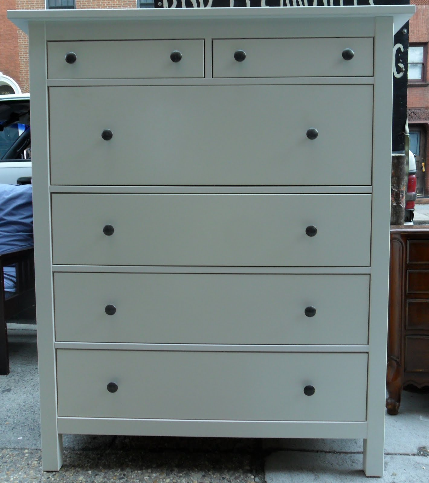 Ikea Hemnes Frisiertisch Mit Spiegel Weiß ~ Uhuru Furniture & Collectibles IKEA Hemnes Dresser SOLD
