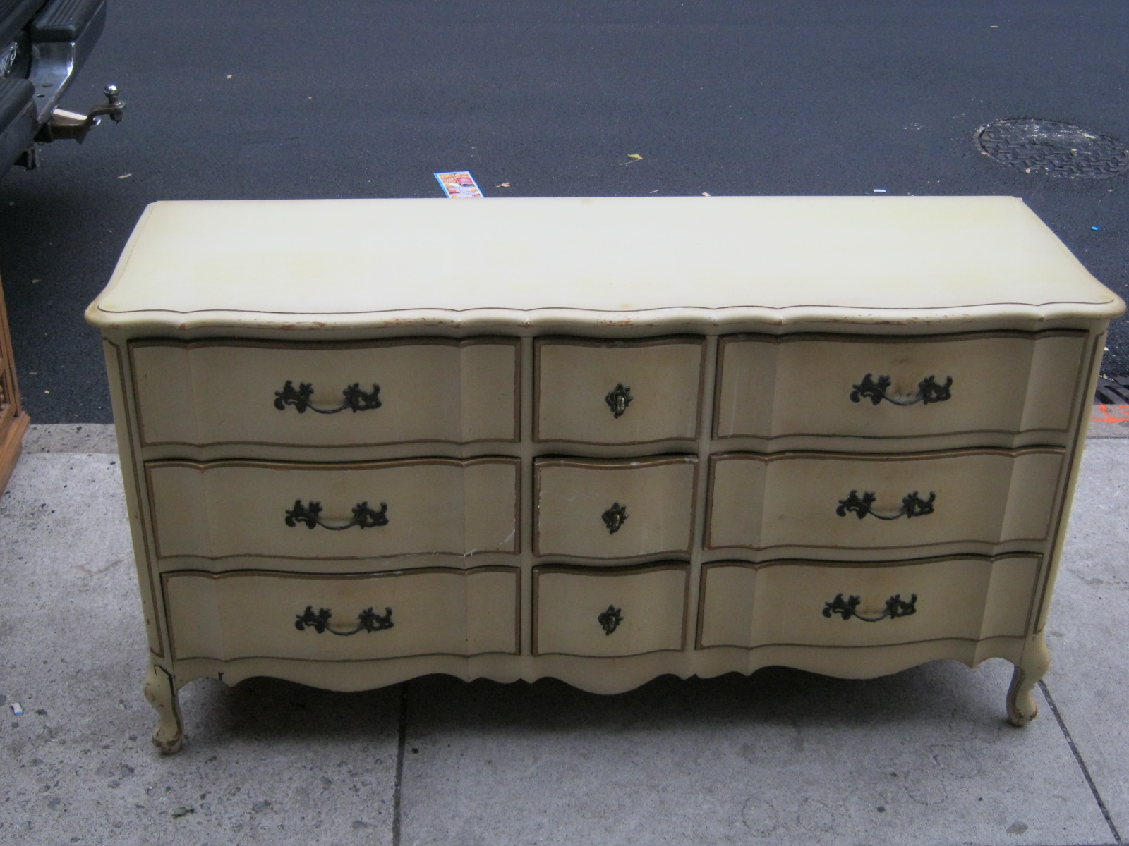 Uhuru Furniture & Collectibles: French Provincial Dresser REDUCED $125