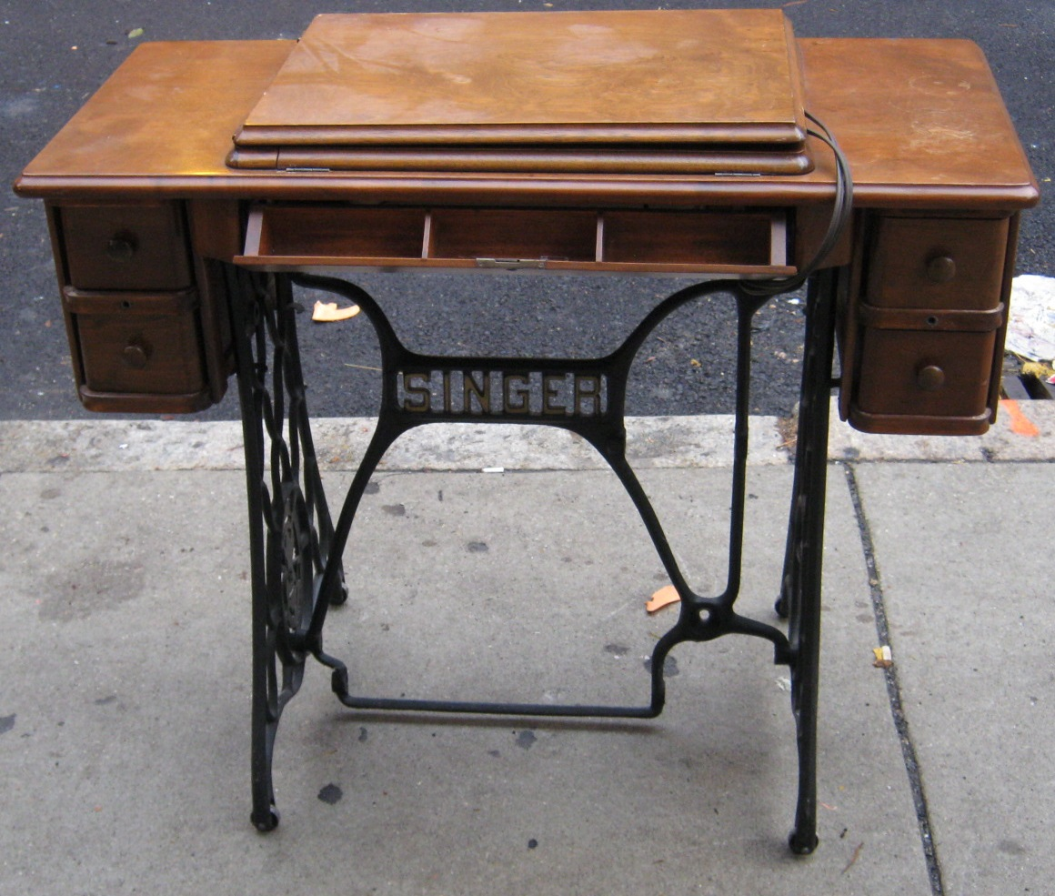 Uhuru Furniture Collectibles Antique Sewing Cabinet Sold