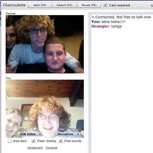 Funny Chatroulette Epic Moment