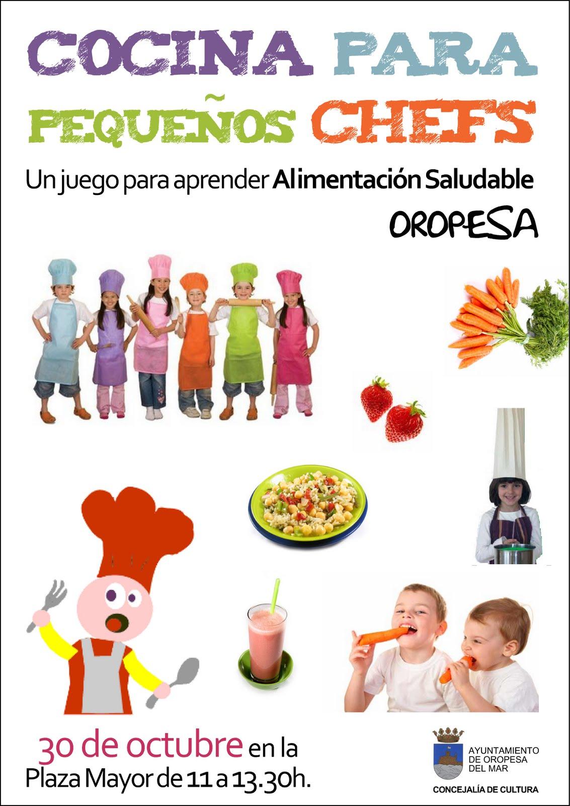 Kosmopolita comunicaci cocina para peque os chefs - Cocina con ninos pequenos ...