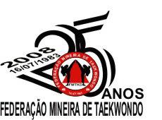 2014: 31 ANOS DE COMEMORAÇÃO DA FUNDAÇÃO DA FEDERAÇÃO MINEIRA DE TAEKWONDO. 1ª FEDERAÇÃO DE M.G.