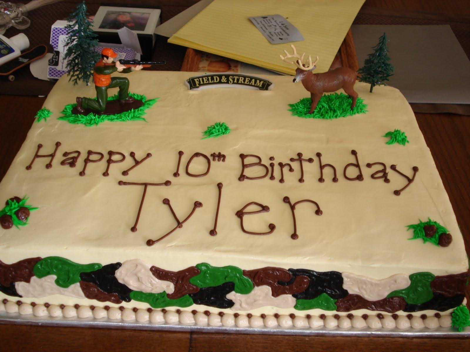 Sweet Creations By Heather Deer Hunting Birthday Cake
