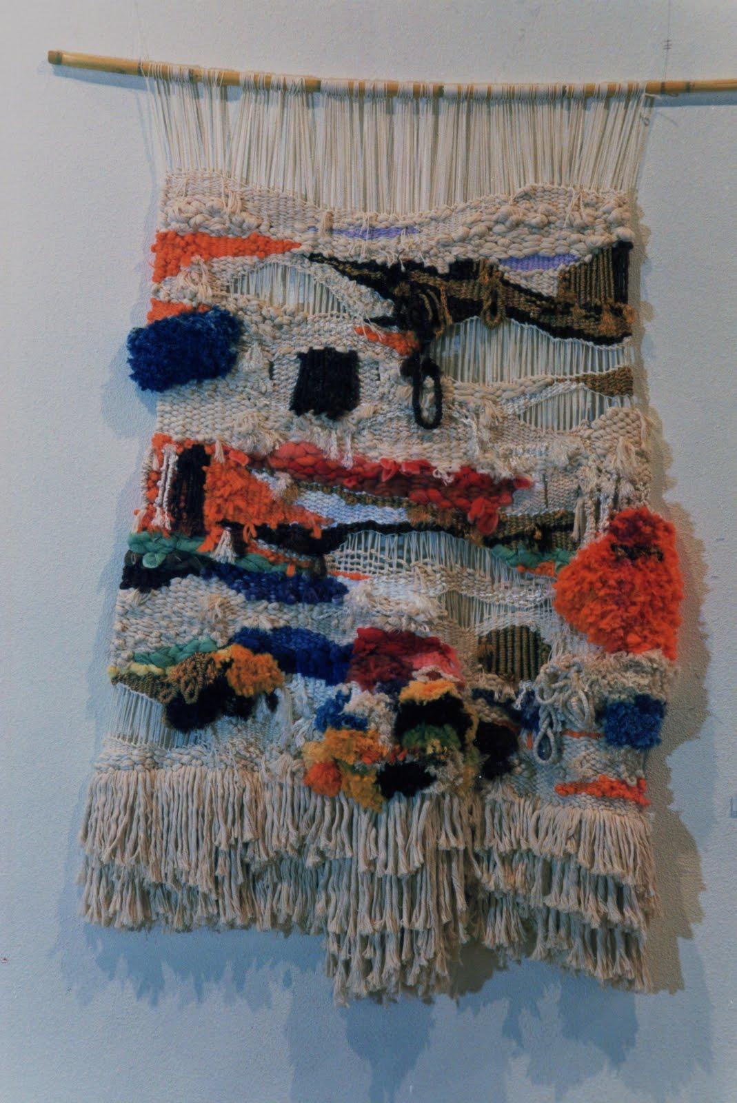 Tapices macrame y decoracion floral tapices - Tapices de macrame ...