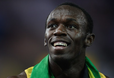 Usain Bolt images, Usain Bolt pictures, Usain Bolt broke the 100m Running world record,Running world record pictures