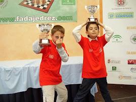 Luis  y Rafa  campeonato Andalucia 2007