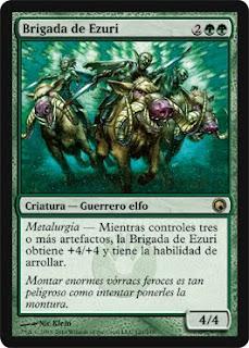 Ultima Expancion de Magic Cicatrices de Mirrodin Brigada+de+Ezuri