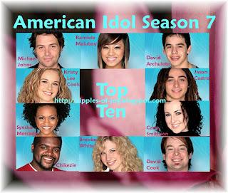 American Idol Season 7 Top 10