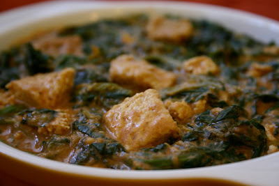 ... It! [Vegan Recipes]: Saag Paneer with Home Made Vegan Paneer Cheese
