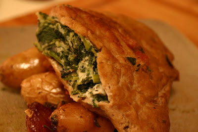 ]: Vegan Goat Cheese, Spinach and Sun-Dried Tomato Stuffed Pork Chops ...
