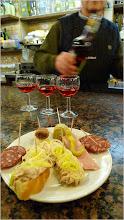 Assorted CICHETTI with Vino Rosso