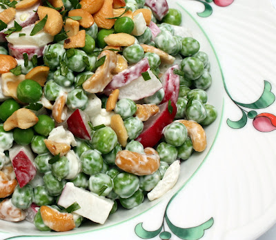 salad radish pea spring